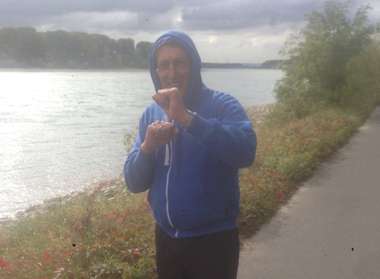 Trainingsstart zum Köln Marathon 2017