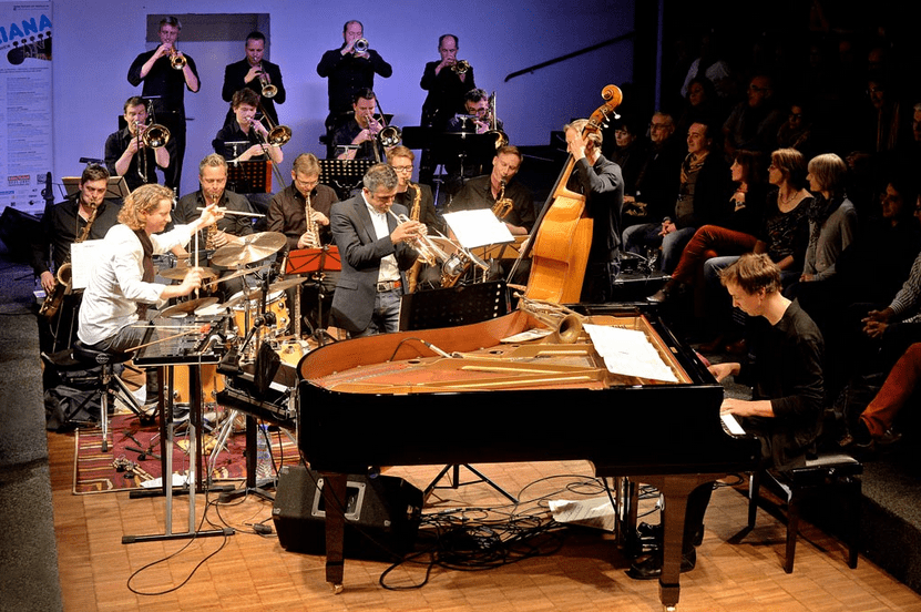 Jens Düppe & Cologne Contemporary Jazz Orchestra with special guest Paolo Fresu im Alten Pfandhaus am 5. November 2014
