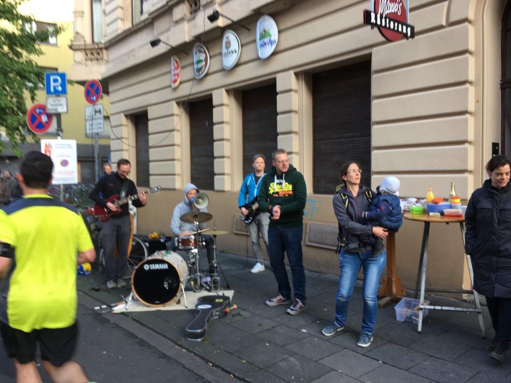 Koeln-Marathon-Live Musik