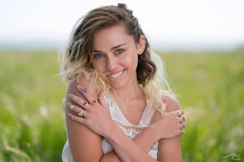 MileyCirus Foto © Liam Hemsworth