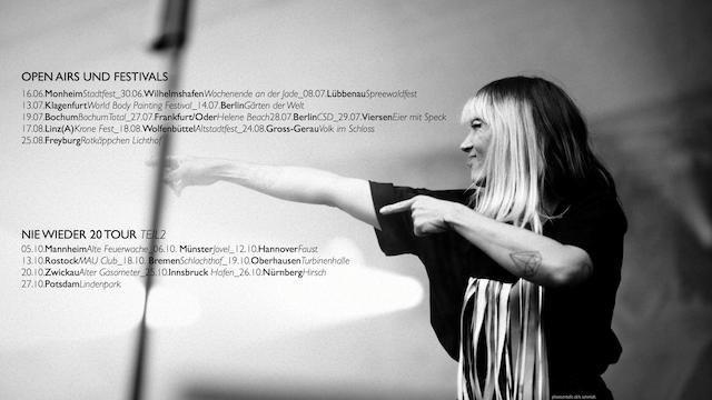 NieWieder20 Tour Foto(c) Mia.