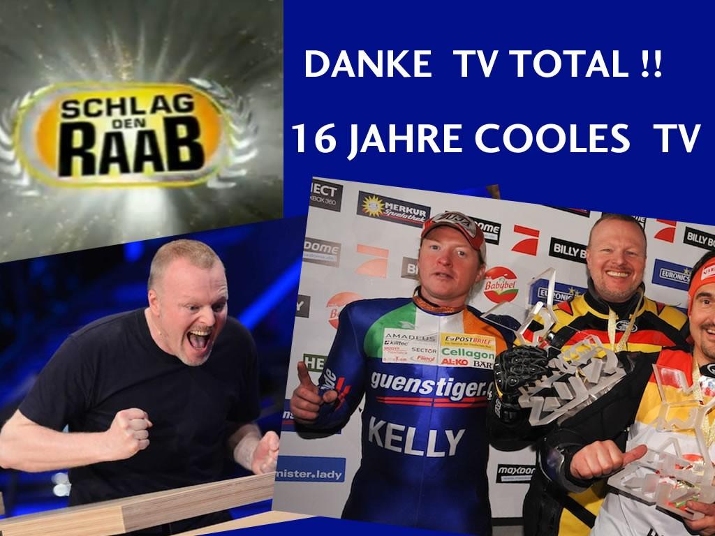 Danke Stefan Raab TV Total Fotos: ProSieben