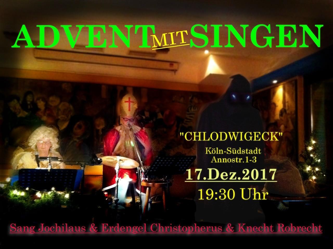 Weihnachtslieder mit Sang Jochilaus & Erdengel Christopherus