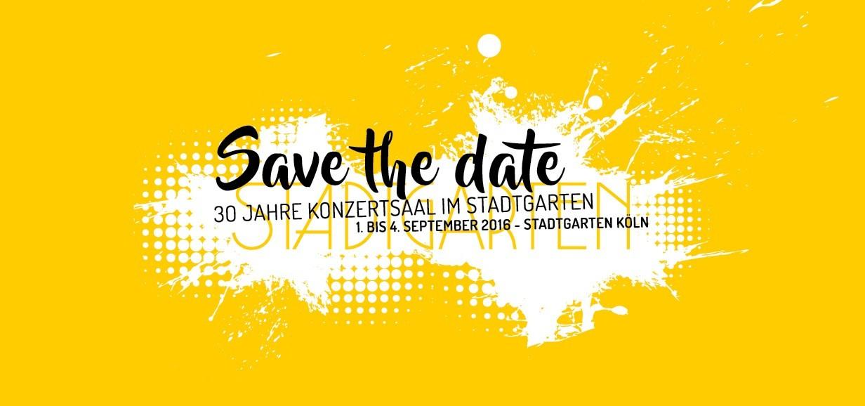 Dreißig Jahre Jazz Stadtgarten