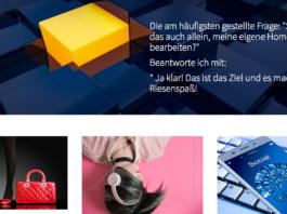 TYPO3 Homepage macht Spass