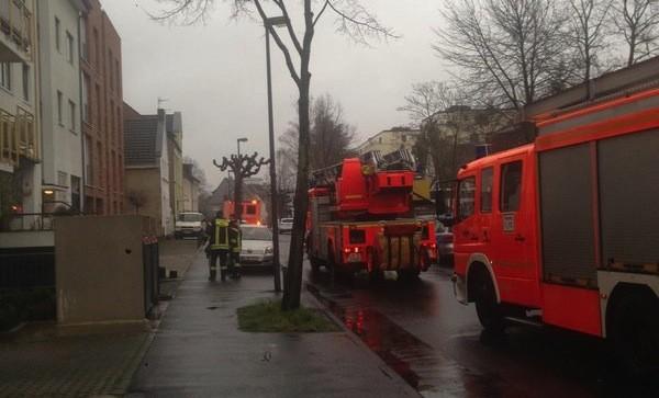 Feuerwehr und Rettungseinsatz in Sürth