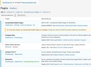 Wordpress daily update view