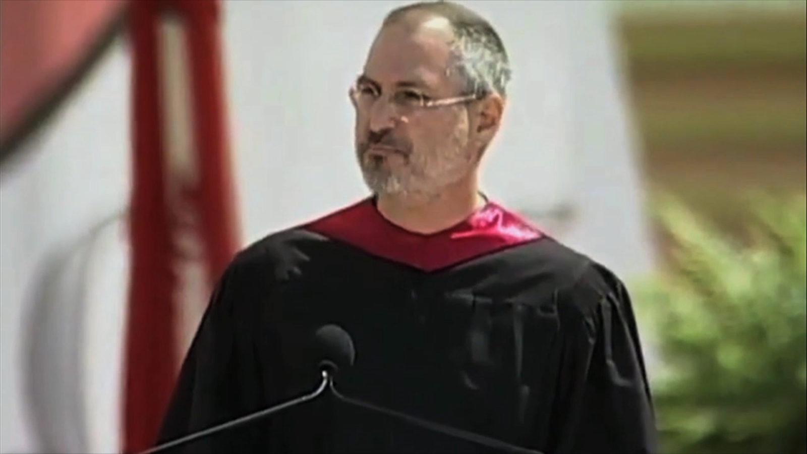 "Steve Jobs: Stanford-Rede Foto: ""obs/ZDFinfo/ZDF/ Stanford University"""