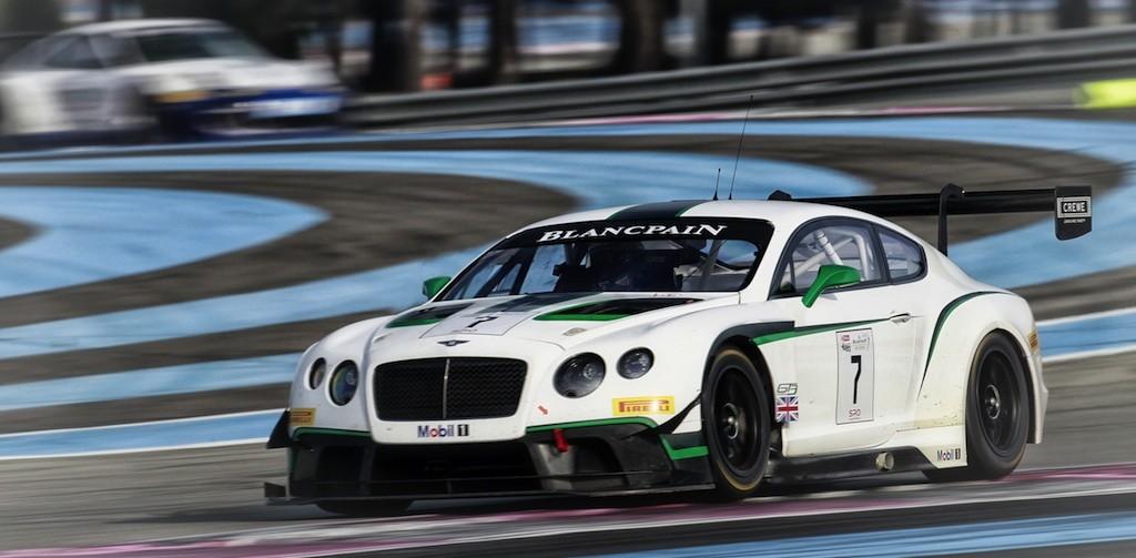 News Aktuell-Bentley 2015 bei den ADAC GT Masters
