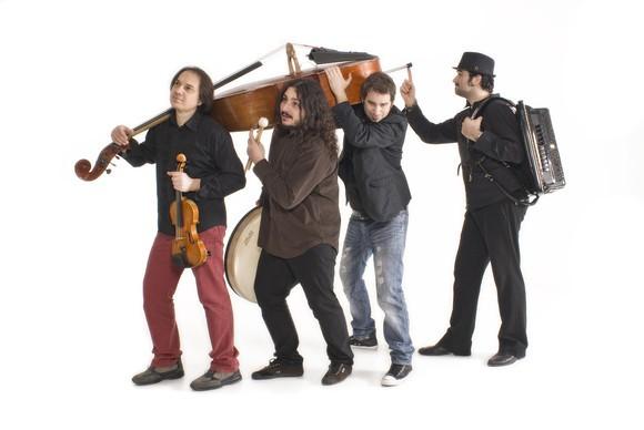"Luca Ciarla Quartett »CD release ""violonair"" »Jazz«"