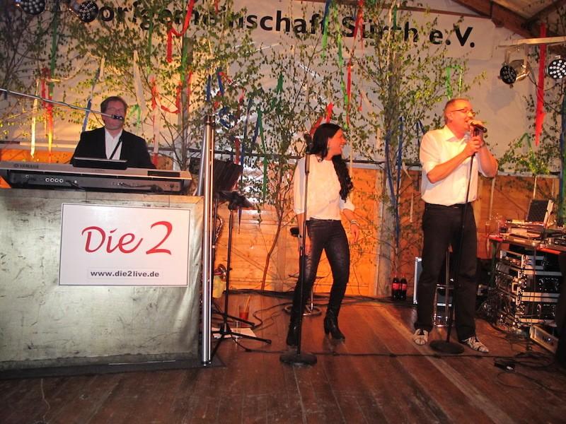 Die Zwei Live im Festzelt Tanz in den Mai Köln Sürth