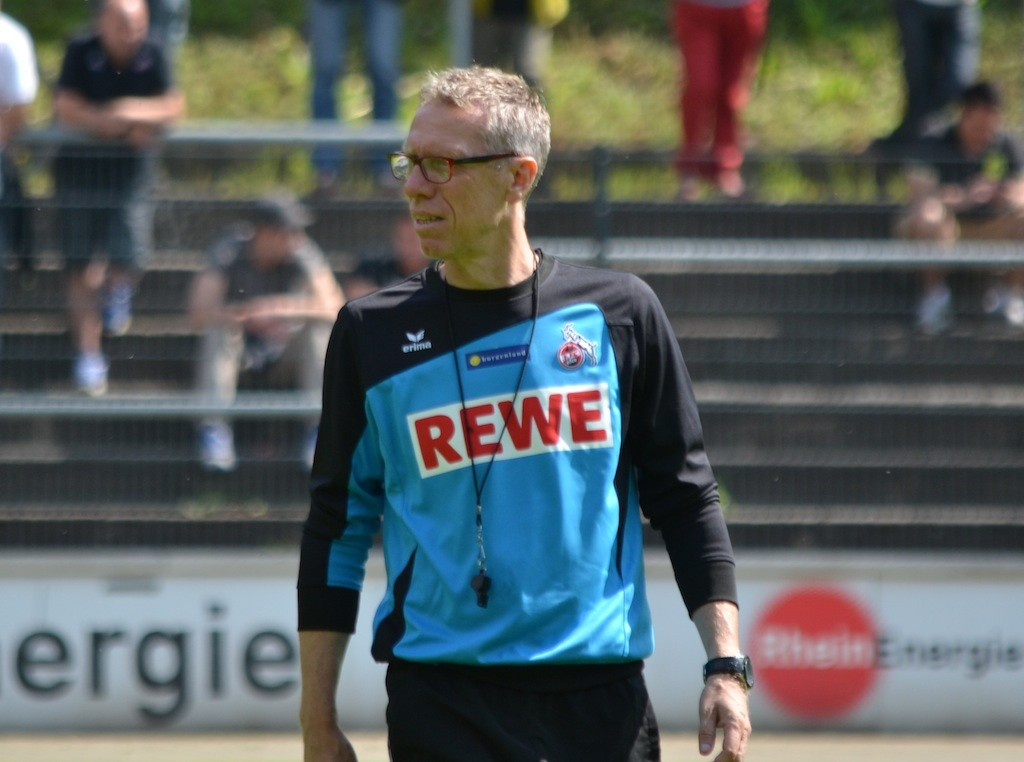 FC Coach Peter Stöger