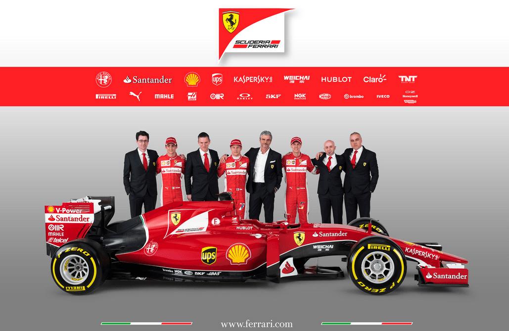 Vettels neue Diva Ferrari SF15-T