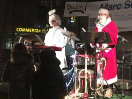 Sang Jochilaus & Erdenengel Christopherus beim Winterzauber Rodenkirchen