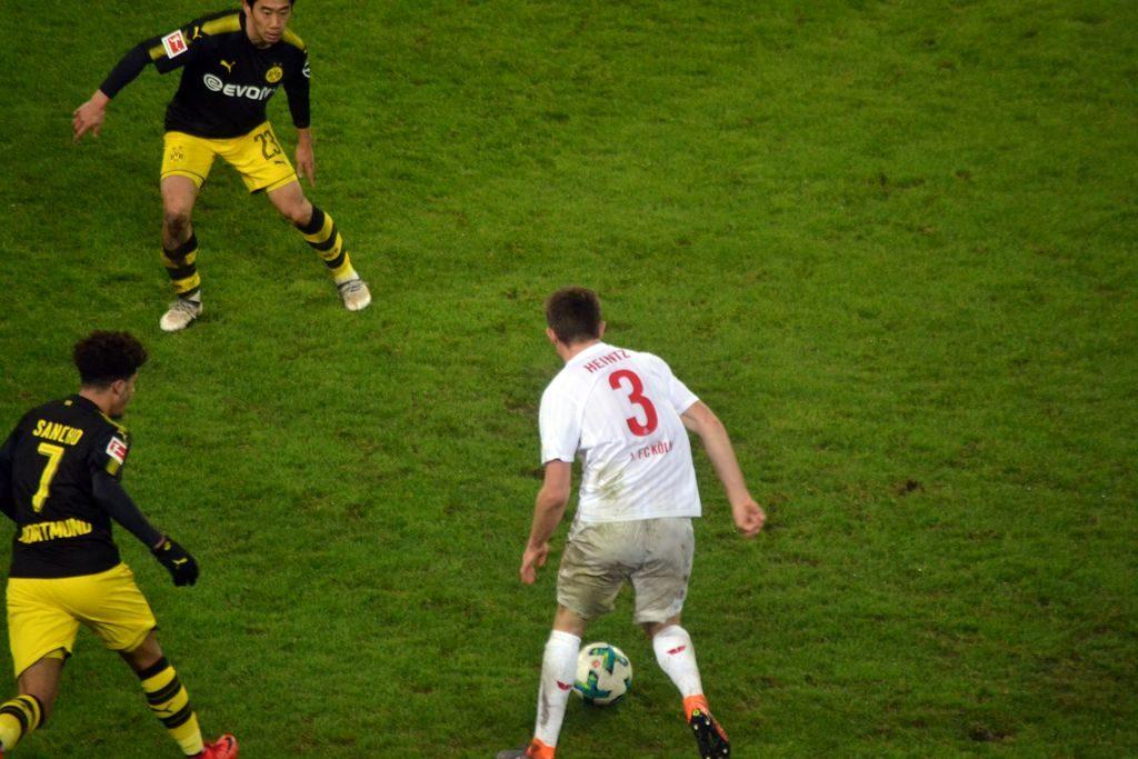 Dominik Heintz Mann of the match sorgte mit seinem Durchgang für die Zoller Vorlage. Geil