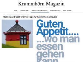 Krummhörn Magazin Informationen für Feriengäste und Ostfriesland Urlauber