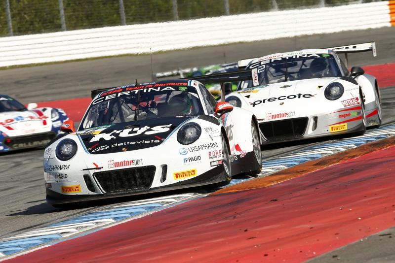 k s team75 bernhard zwei porsche beim adac gt masters 2017. Black Bedroom Furniture Sets. Home Design Ideas