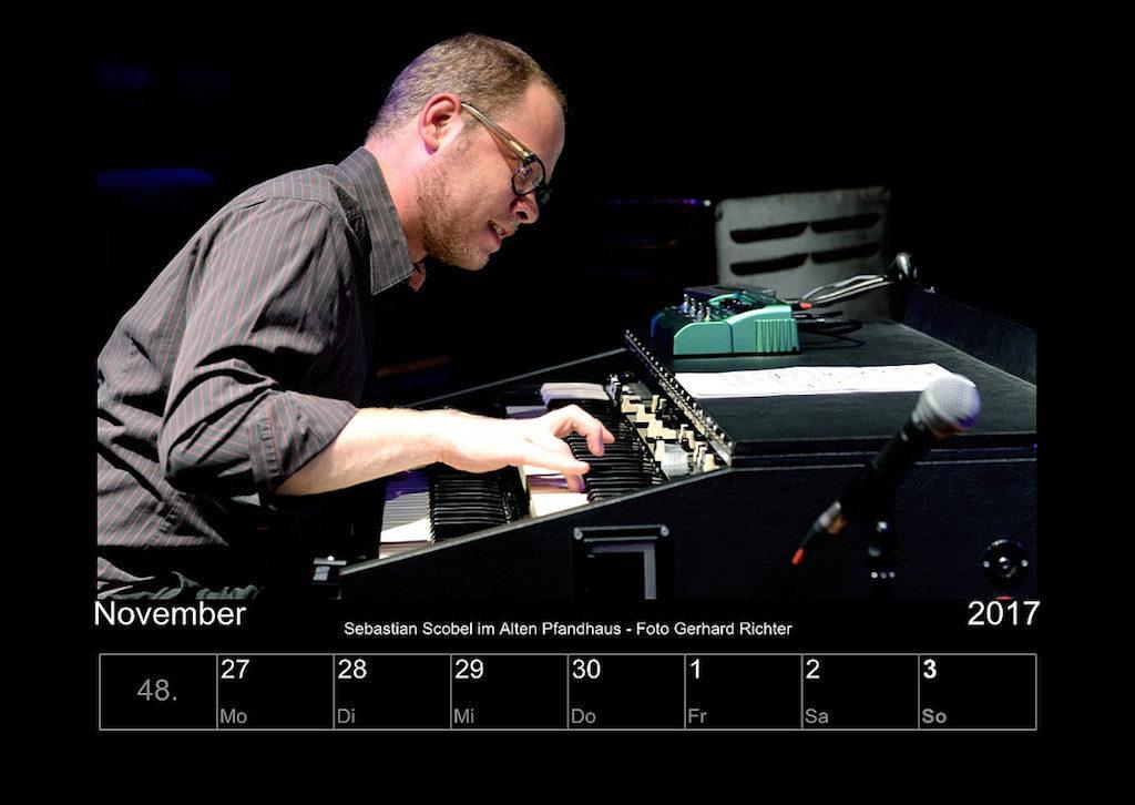 Kölner Jazz Kalender 2017 Gerhard Richter& Peter Tümmers
