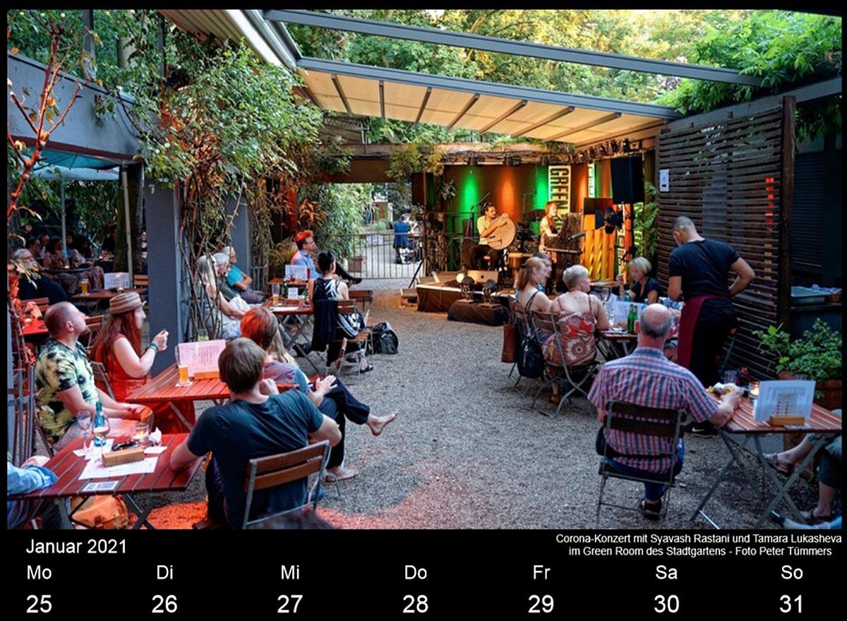 Köln Jazz Kalender 2021 @Gerhard Richter