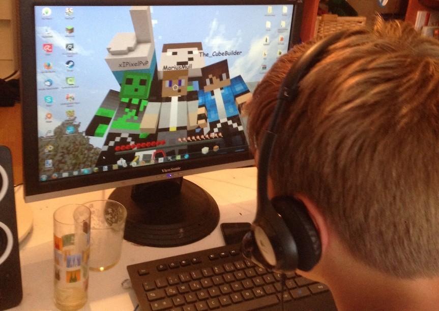 Studie Internetnutzung Die Hälfte Der Achtjährigen Ist Regelmäßig - Minecraft im netz spielen