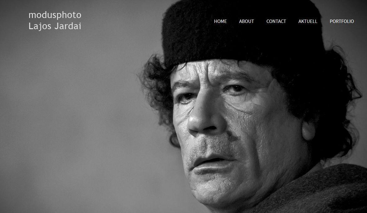 Yassir Arafat auf der ModusPhoto.net Seite Foto:(c) Lajos Jardai