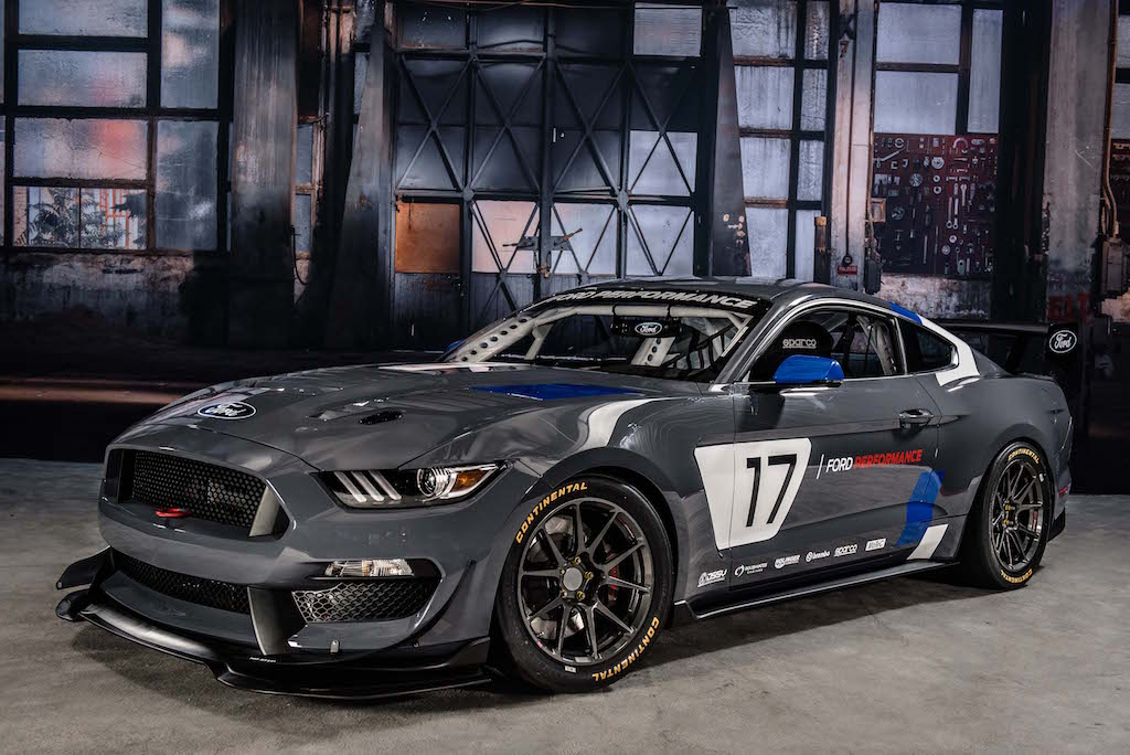 MustangGT4 FordPerformance. Foto @