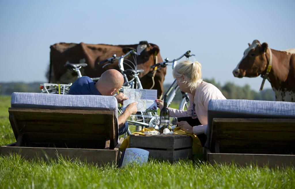 """Radfahren in Holland """"obs/Niederländisches Büro für Tourismus & Convention (NBTC)/Foto Dies Goorman"""""""