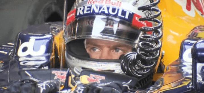 Red Bull im letzen Rennen der Formel1 2012
