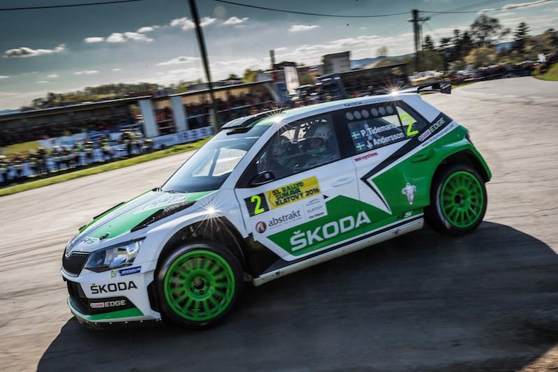 SKODA bei der WM-Rallye in Portugal Foto:obs/Skoda Auto Deutschland GmbH