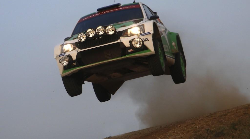"""SKODA startet bei der WM-Rallye in Schweden Foto:""""obs/Skoda Auto Deutschland GmbH"""""""