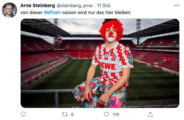 Arne Steinberg auf twitter