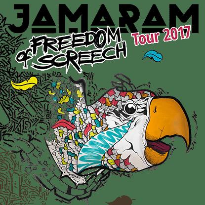 Jamaram Tour2017 Köln Stadtgarten